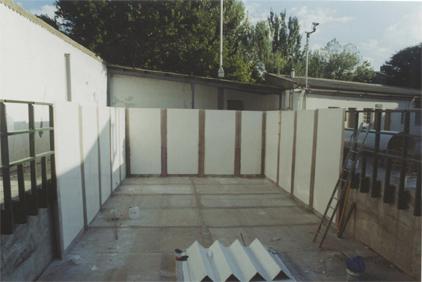 Depósito rectangular de 550.000l